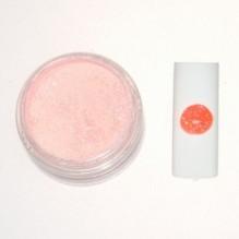 Цветная акриловая пудра № 3.3 светло-розовый с глитером