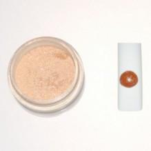 Цветная акриловая пудра № 3.6 кофе с молоком с глитером
