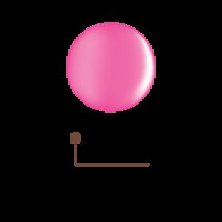 Цветной гель 4D - розовый шелк 05