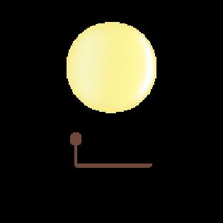 Цветной гель 4D - солнечный лучик 07