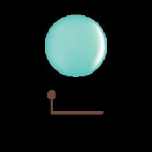 Цветной гель 4D - бирюзовая глазурь 08