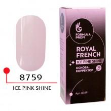 ФП Основа корректор, цв. ice pink shine 30 мл (пластик)