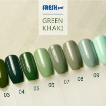Гель-лак Fresh Prof Green Khaki G1