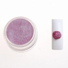 Цветная акриловая пудра № 1.5 розовый с глитером