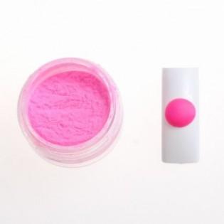 Цветная акриловая пудра № 2.5 розовый неон