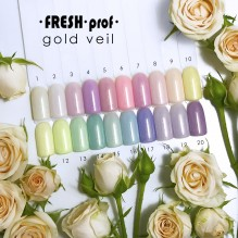 "Гель-лак Fresh prof ""Gold Veil"" 01"