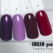 Гель-лак Twenty five 01 Fresh Prof TF01