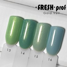 "Гель-лак Fresh prof ""Gold Veil"" 13"