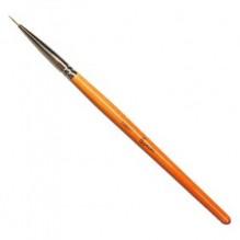 Кисть для прорисовки нейлоновая 8мм (арт.15601)