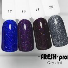 "Гель-лак Fresh prof ""Crystal"" 17"