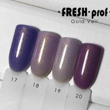 "Гель-лак Fresh prof ""Gold Veil"" 17"