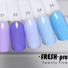Гель-лак Twenty five 01 Fresh Prof TF21