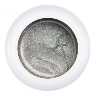Гель-краска Паутинка №S3 серебро, 5 гр