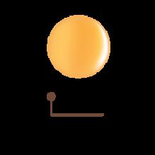 Цветной гель 4D - абрикосовый джем 02