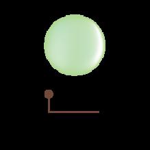Цветной гель 4D - майская зелень 22