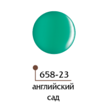 Цветной гель 4D - английский сад 23