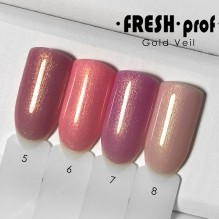 "Гель-лак Fresh prof ""Gold Veil"" 05"