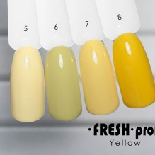 Гель-лак Fresh Prof Yellow Y07