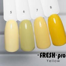 Гель-лак Fresh Prof Yellow Y05