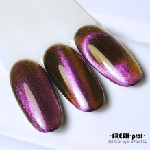Гель лак Fresh prof 5D cat eye 02 10g