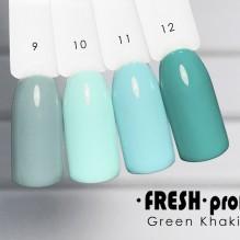 Гель-лак Fresh Prof Green Khaki G9