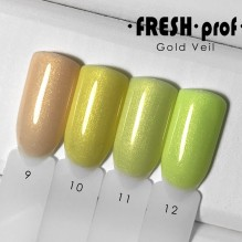 "Гель-лак Fresh prof ""Gold Veil"" 09"