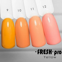 Гель-лак Fresh Prof Yellow Y10