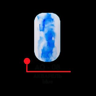 КРАСКА ДЛЯ ДИЗАЙНА АКВАРЕЛЬ, ЦВ. BLUE, 5 МЛ