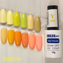 Гель-лак Fresh Prof Yellow Y02