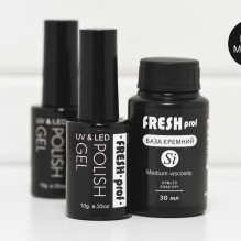 База Freshprof Кремний Si medium viscosity 30 ml
