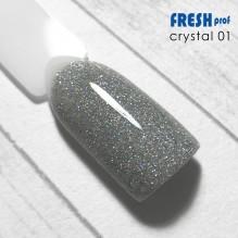 "Гель-лак Fresh prof ""Crystal"" 01"