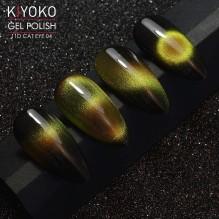 Гель-лак Kiyoko 11D Cat eye №04 8ml