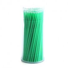 Микробраши одноразовые d.2 mm  green 100шт в уп
