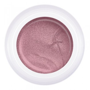 Гель-краска Паутинка №S6 розовый металлик, 5 гр